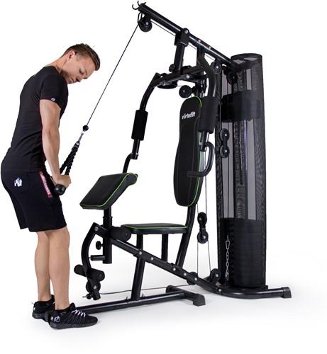 VirtuFit Krachtstation Homegym oefening triceps