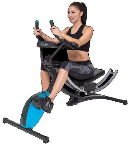 Ab Bike Buikspiertrainer - Hometrainer-3
