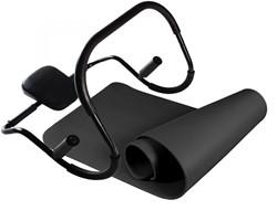 VirtuFit Combideal: Buikspiertrainer + NBR Fitnessmat