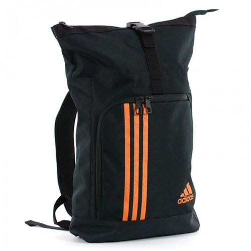 Adidas Training Military Bag Zwart/Oranje - Small