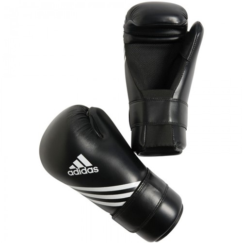 Adidas Semi Contact Gloves - Bokshandschoenen - Zwart