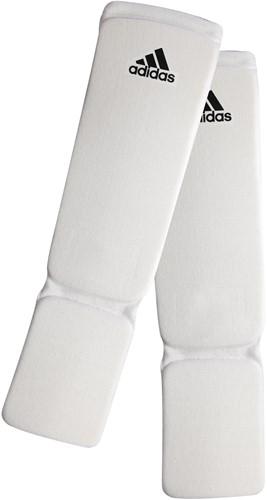 Adidas Elastische Scheenbeschermers - Wit