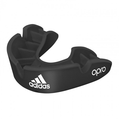 Adidas Gebitsbeschermer Opro Gen4 - Bronze Edition - Zwart
