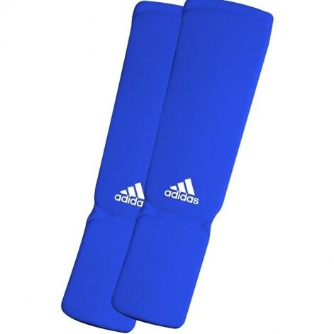 Adidas Elastische Scheenbeschermer - Blauw - XL - Verpakking geopend