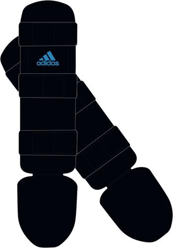 Adidas Scheenbeschermer Good - Zwart/Blauw
