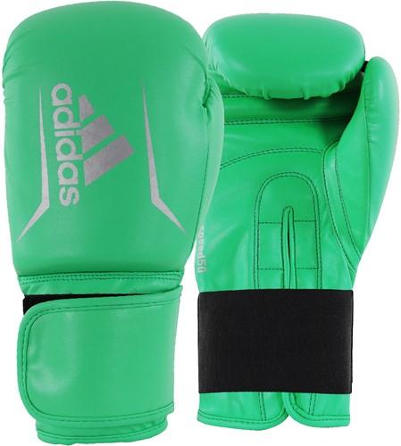 Adidas Speed 50 (Kick)Bokshandschoenen - Lime/Zilver