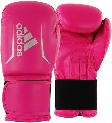 Adidas Speed 50 (Kick)Bokshandschoenen - Roze/Zilver