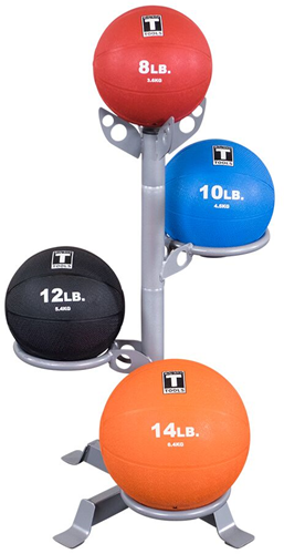 Body-Solid 3-Medicine Ball Rack