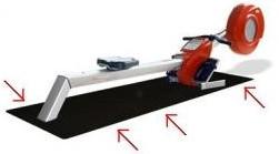 Flow Fitness anti slip mat 226X85CM-2