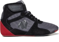 Gorilla Wear Perry High Tops Pro - Gray/Black/Red
