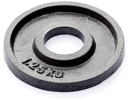 Muscle Power Gietijzeren Halterschijf - 50 mm - 1,25 kg