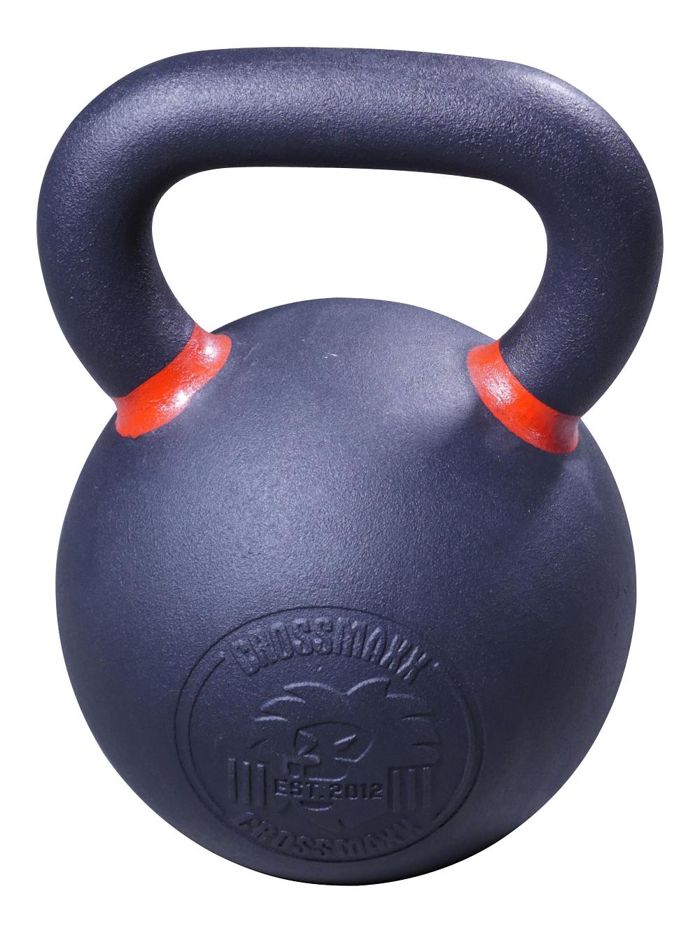 Lifemaxx Crossmaxx Kettlebell - Gietijzer met Poedercoating - 32 kg