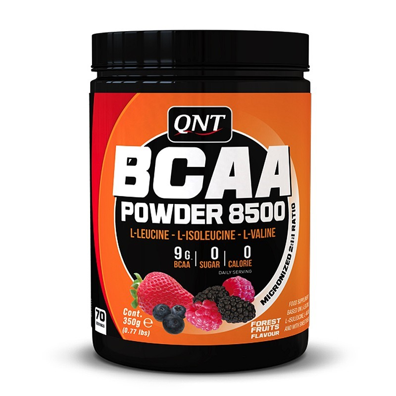QNT BCAA Poeder 8500 - 350 gram - Forest Fruits