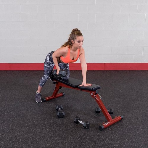 Body-Solid (Best Fitness) Fid Bench - Rood - Showroommodel-3