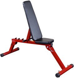 Body-Solid (Best Fitness) Fid Bench - Rood