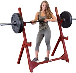Body-Solid (Best Fitness) Olympic Press Stand - Rood