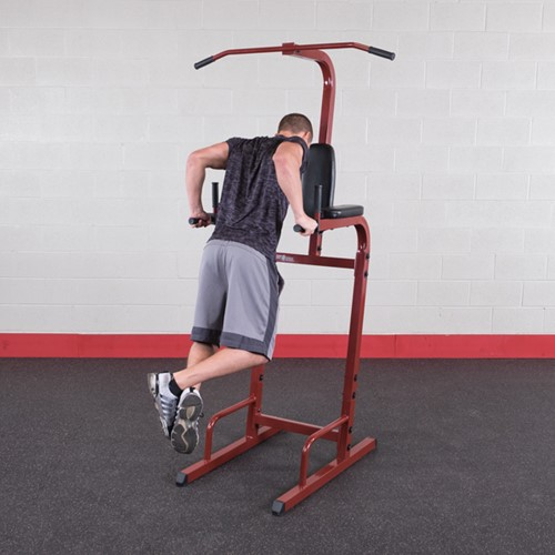 Body-Solid (Best Fitness) Vertical Knee Raise - Rood-2