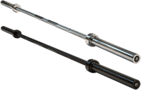 Body-Solid Olympic Power Bar - 150 cm - Zwart-2