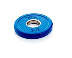 Fractional Olympic Bumper Plate - 2,0 kg