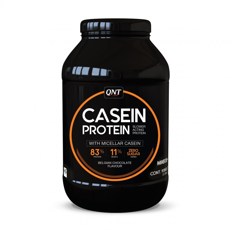 QNT Casein Protein - Chocolade - 908 gram