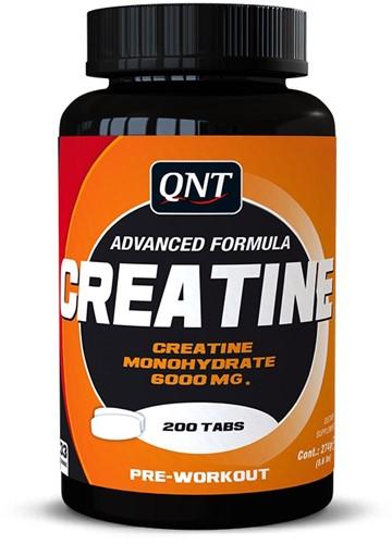 QNT Creatine Monohydrate - 200 tabletten