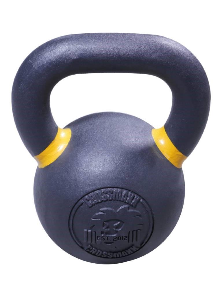 Lifemaxx Crossmaxx Kettlebell - Gietijzer met Poedercoating - 16 kg