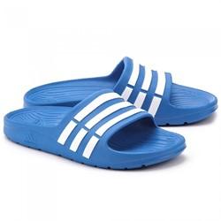 Adidas Duramo Slippers Slide Blauw Junior