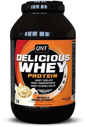 QNT Delicious Whey Protein - 2200g - Lemon Meringue