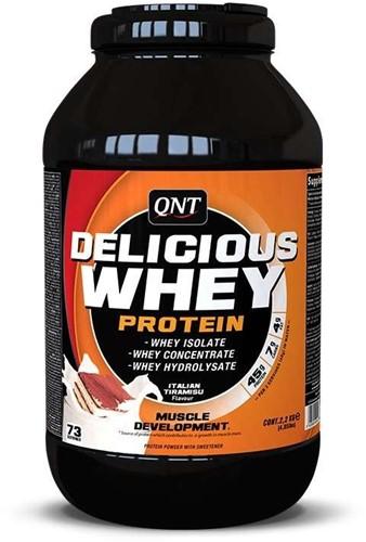 QNT Delicious Whey Protein - 2200g - Tiramisu