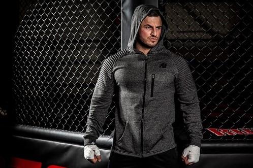 Gorilla Wear Delta Hoodie Bodybuilding Fitness