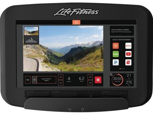 Life Fitness Platinum Discover SE3 Ligfiets - Titanium Storm - Gratis montage-2