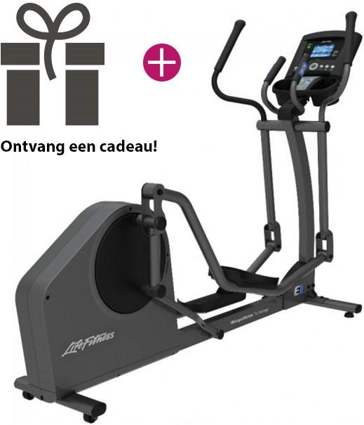 life fitness e1 go crosstrainer showroom model. Black Bedroom Furniture Sets. Home Design Ideas