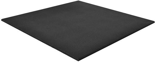 Rubber Crossfit Ecoline Vloer - 100 x 100 x 2 cm - Zwart