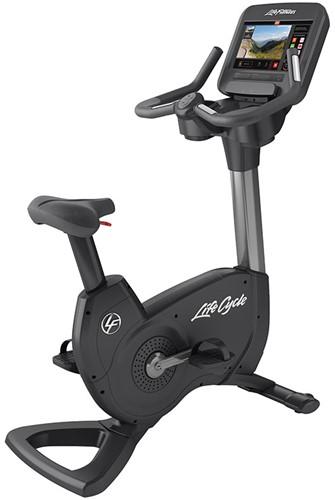 Life Fitness Platinum Discover SE3 Lifecycle Hometrainer - Titanium Storm - Gratis montage