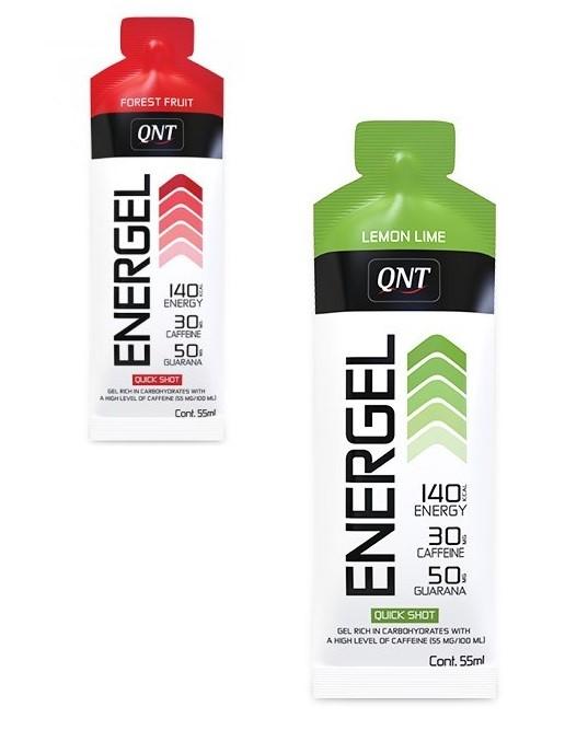 QNT Energel 25 x 55 ml - Lemon Lime