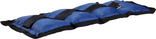 VirtuFit Verstelbare Enkelgewichten / Polsgewichten 2 x 1 kg - Nylon - Blauw-3