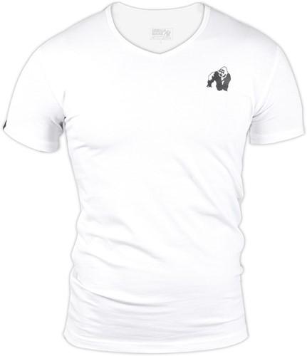 Gorilla Wear Essential V-Neck T-Shirt - Wit
