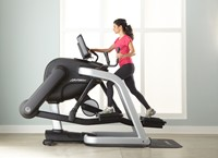 Life Fitness Platinum Club Discover SE3 Flexstrider - Titanium Storm - Gratis montage-3