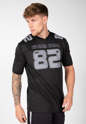 Gorilla Wear Fresno T-shirt - Zwart/Grijs
