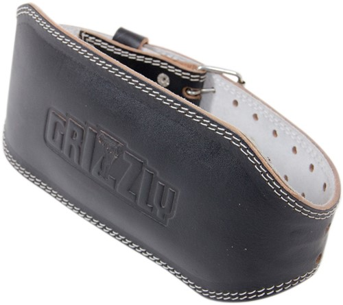 Grizzly Fitness 6 Inch Enforcer Padded Leather Belt