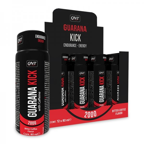 QNT Guarana Kick Shot 12X80 ML