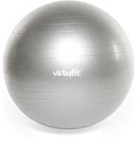 VirtuFit Anti-Burst Fitnessbal Gymbal met Pomp - Grijs - 85 cm -2