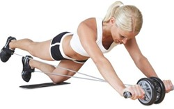 Gymstick dubbel trimwiel met Trainingsvideo - Verpakking beschadigd