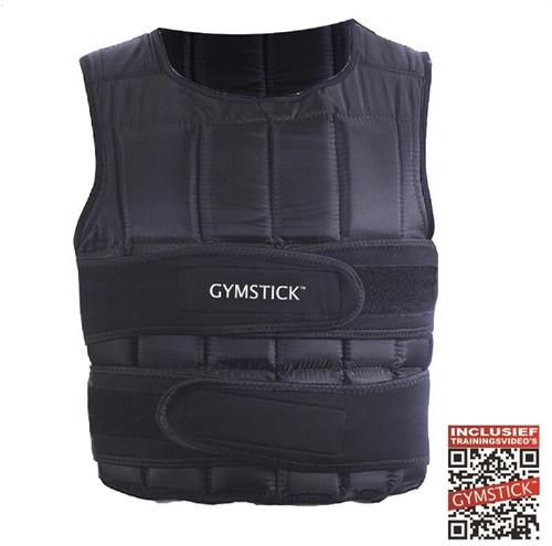 Gymstick Verstelbaar Gewichtsvest - 1 - 20 kg - Met Online Trainingsvideo's