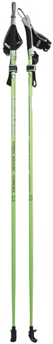 Gymstick health Nordic Walking stokken met DVD - 110 cm - Verpakking beschadigd