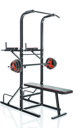 Gymstick Power Tower met Halterbank