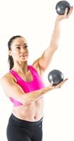 Gymstick yoga ballen 2x 1kg met Online Trainingsvideo-3