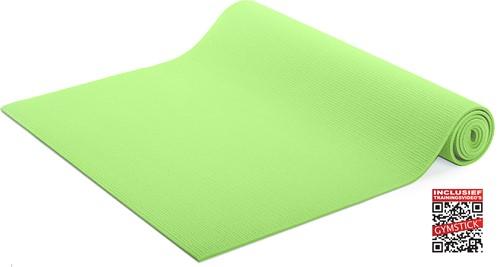 Gymstick Yoga Mat Met Online Trainingsvideo's - Lime