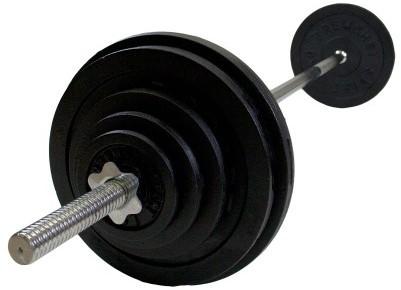 VirtuFit Halterset Gietijzer 50 kg