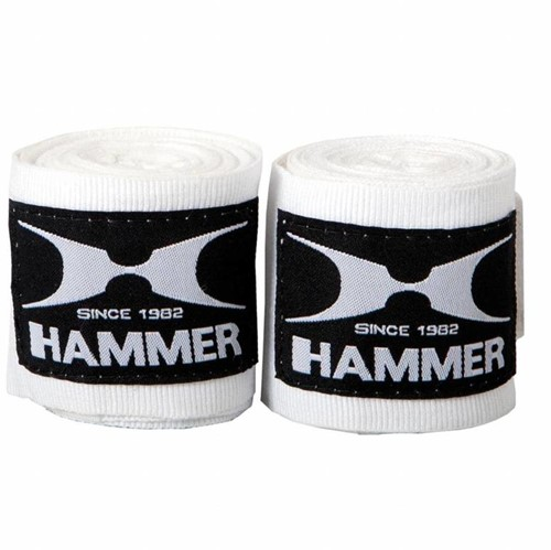 Hammer Boxing Bandages - Per Paar - Wit